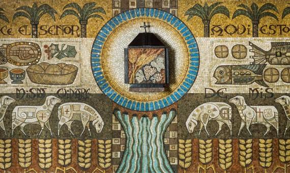 Mosaico San León Magno